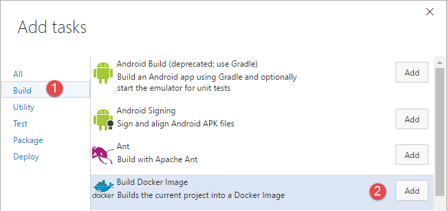 add-docker-steps
